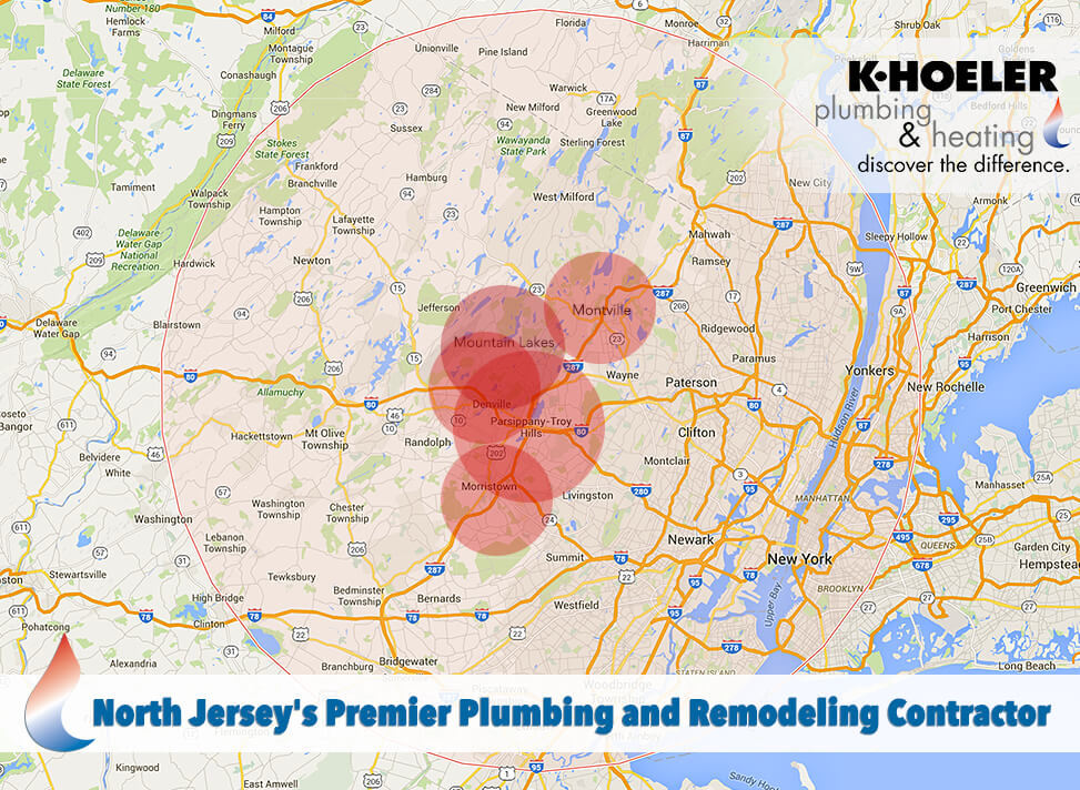 Plumbing and Heating Services in North Jersey and Boonton, NJ