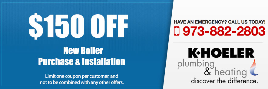 Boiler Specials in North Jersey and Boonton, NJ